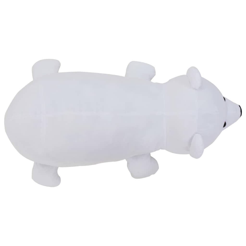 Knuffel-ijsbeer-pluche-wit miniatuur 4
