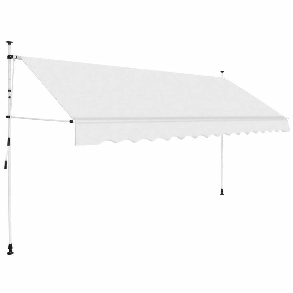 Luifel handmatig uitschuifbaar 350 cm crme