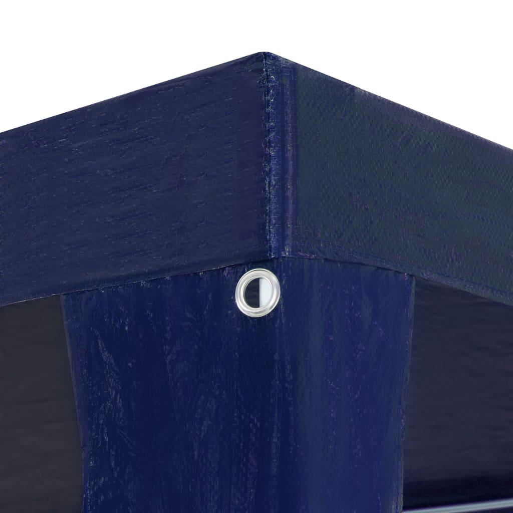 Partytent 3x9 m PE blauw