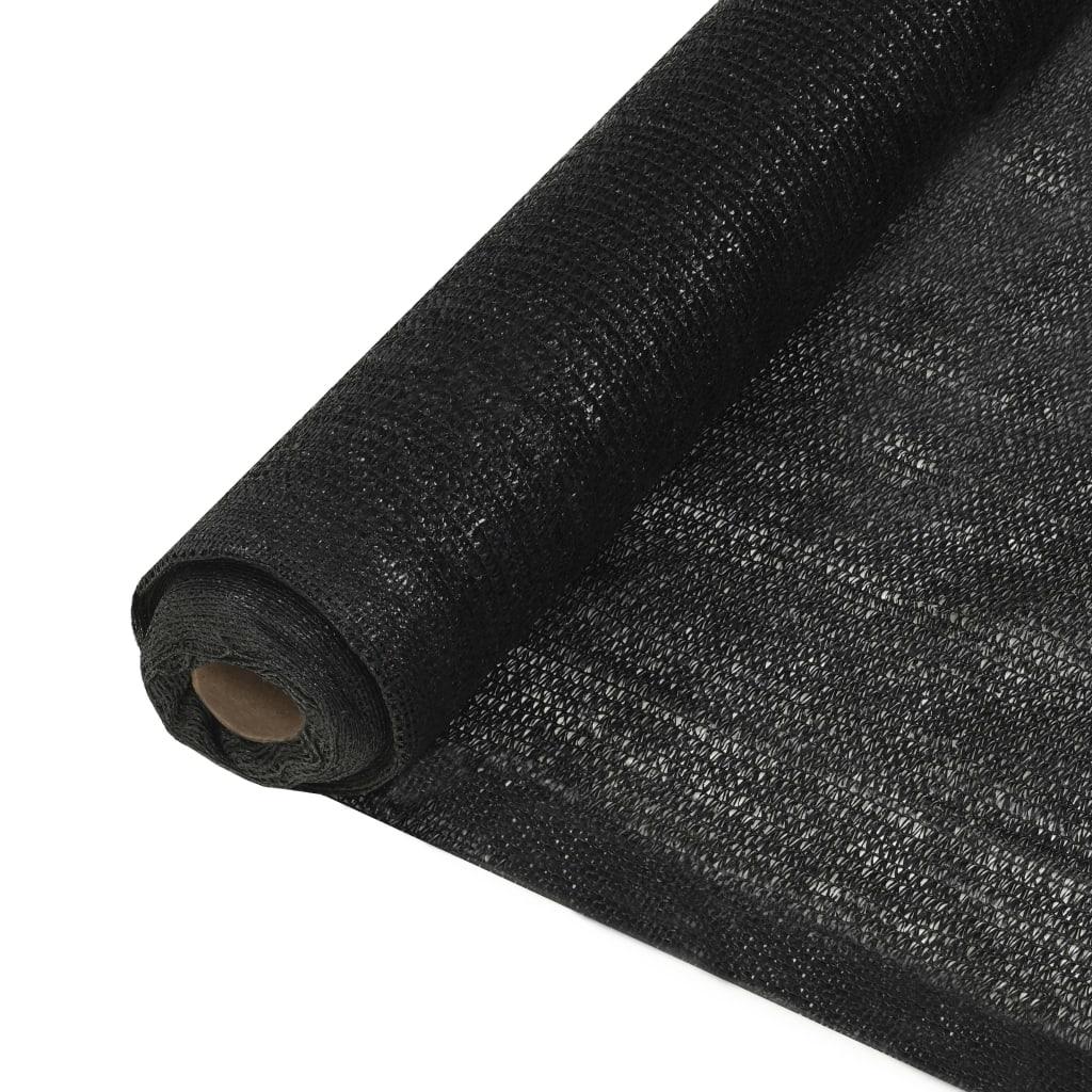 Privacynet 1,5x50 m HDPE zwart