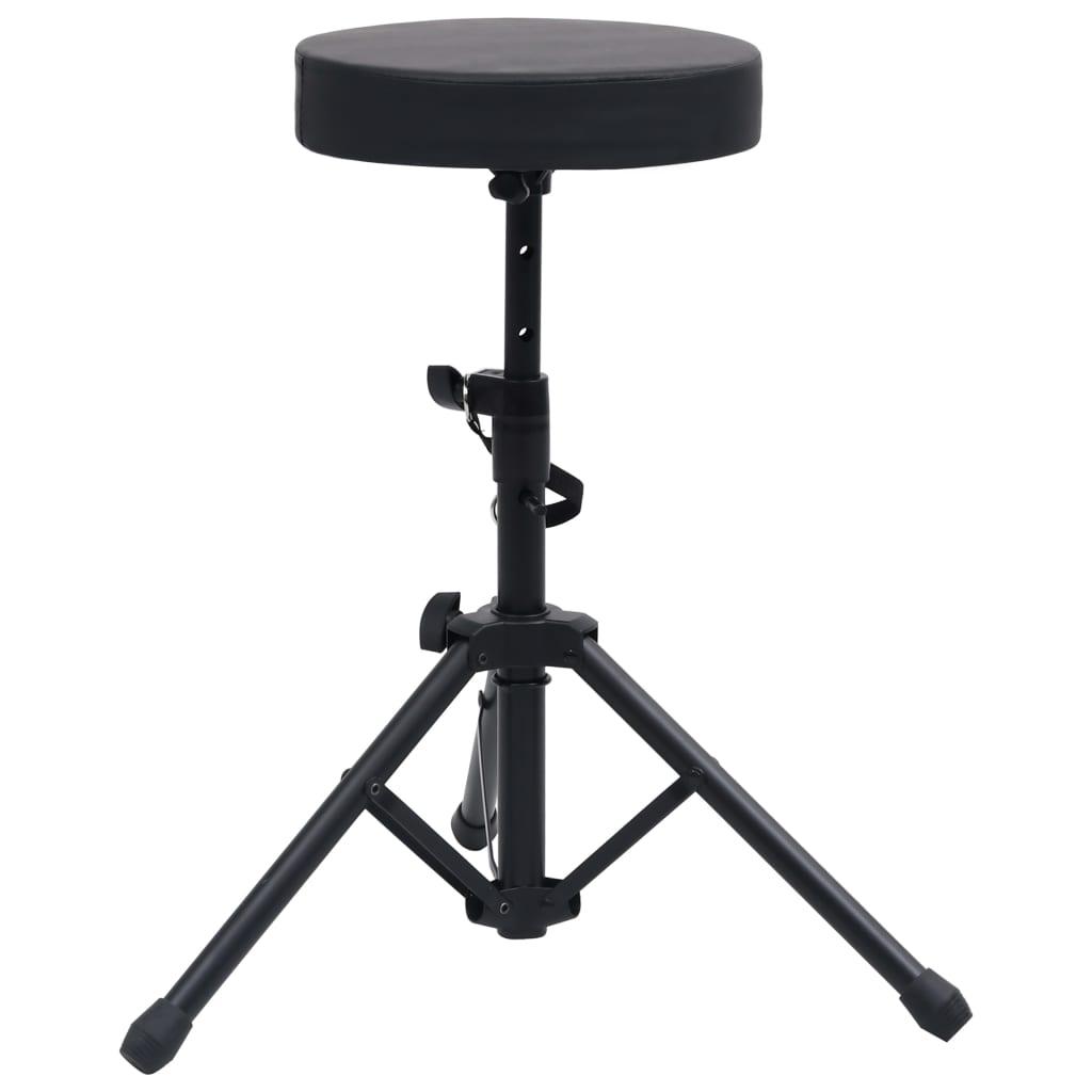Drumkruk verstelbaar rond zwart