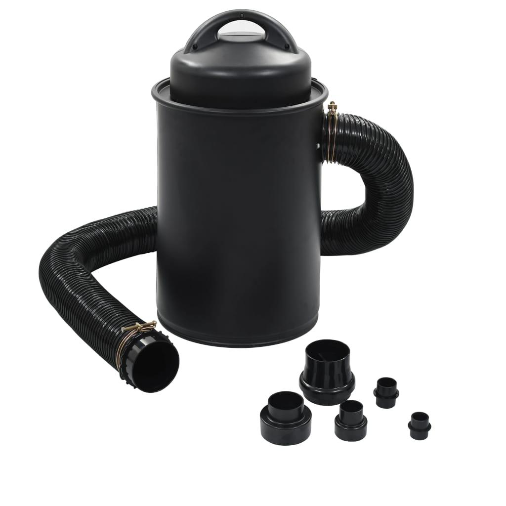 Stofafzuiger met adapterset 1100 W ijzer zwart