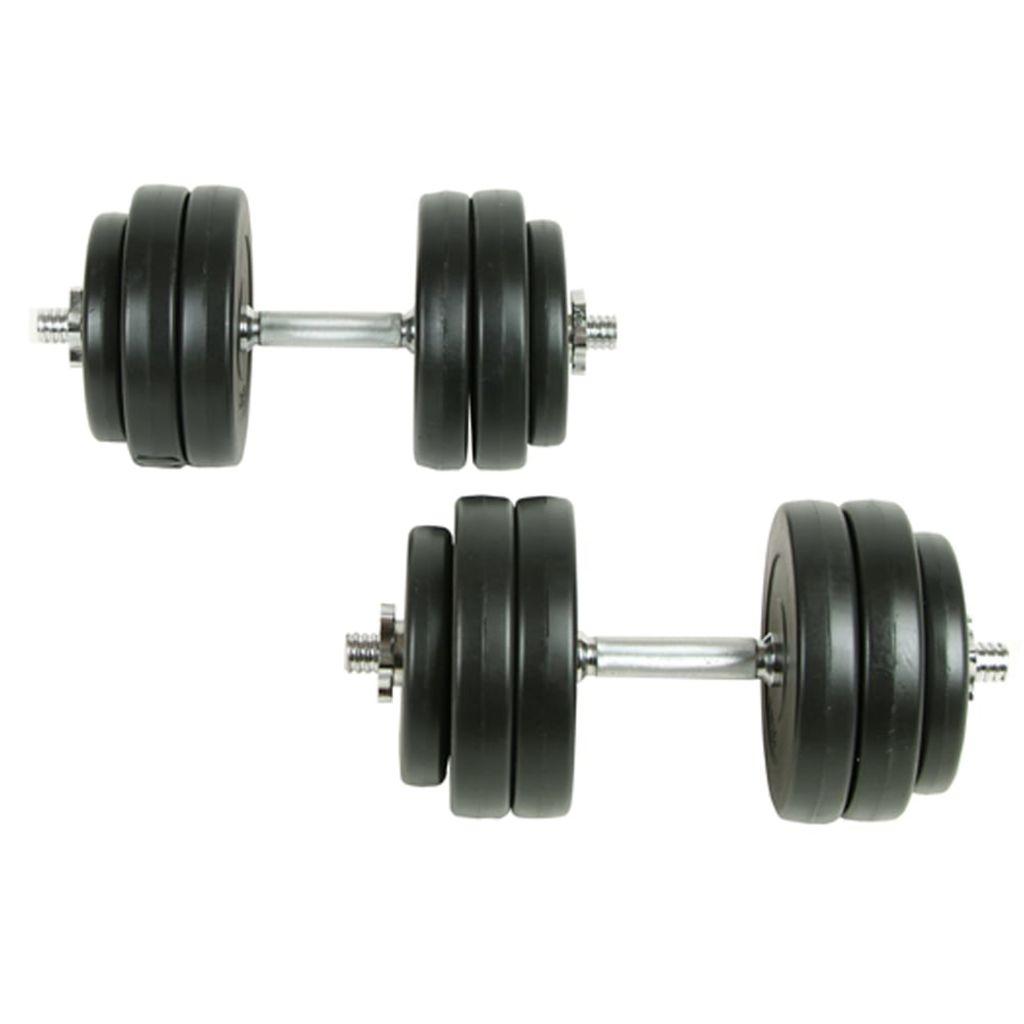 18-delige Halterset 30 kg