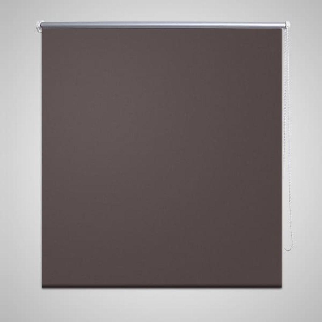 Rolgordijn verduisterend 100 x 175 cm koffiebruin