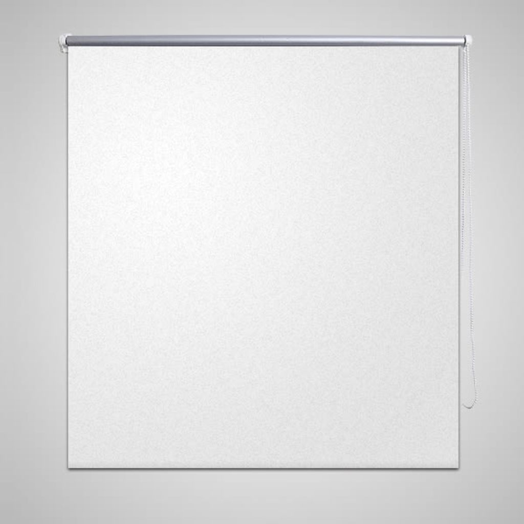 Rolgordijn verduisterend 120 x 230 cm wit