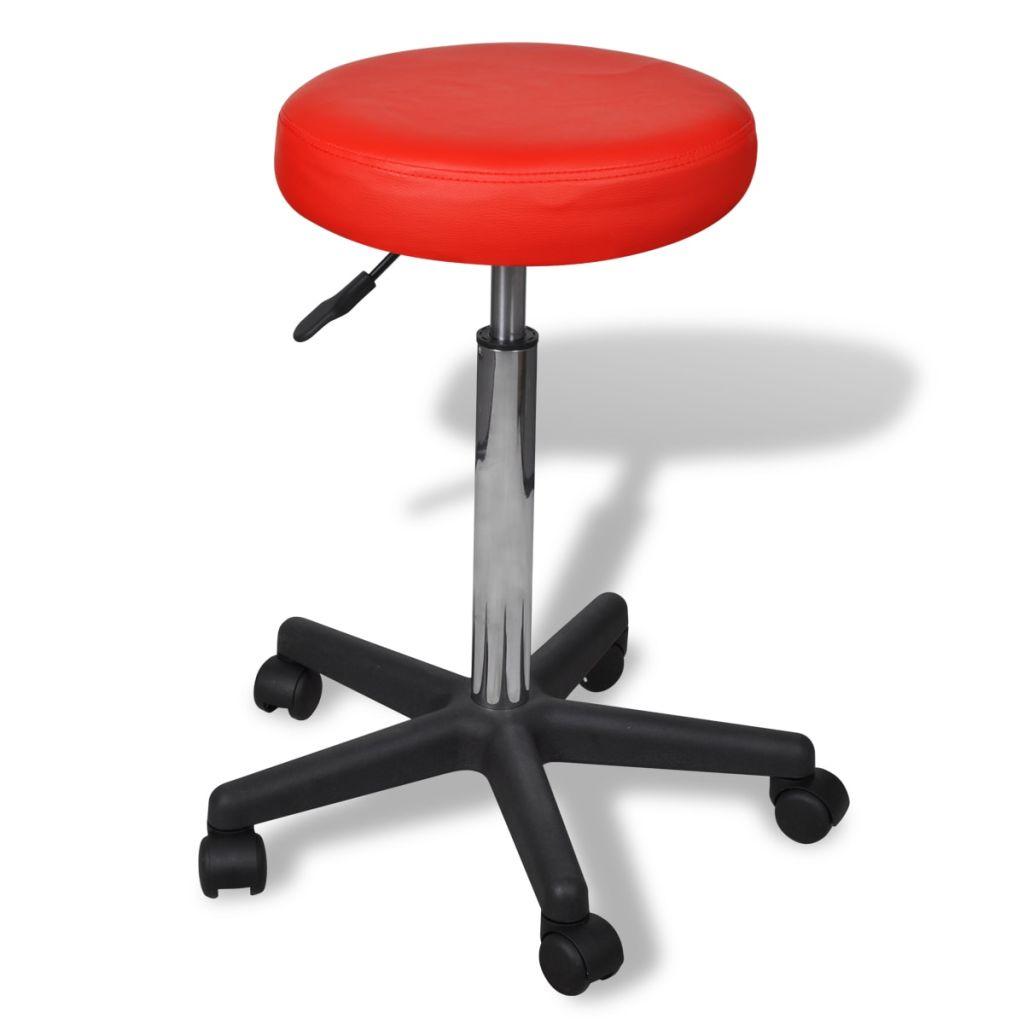 Kantoorstoel rood