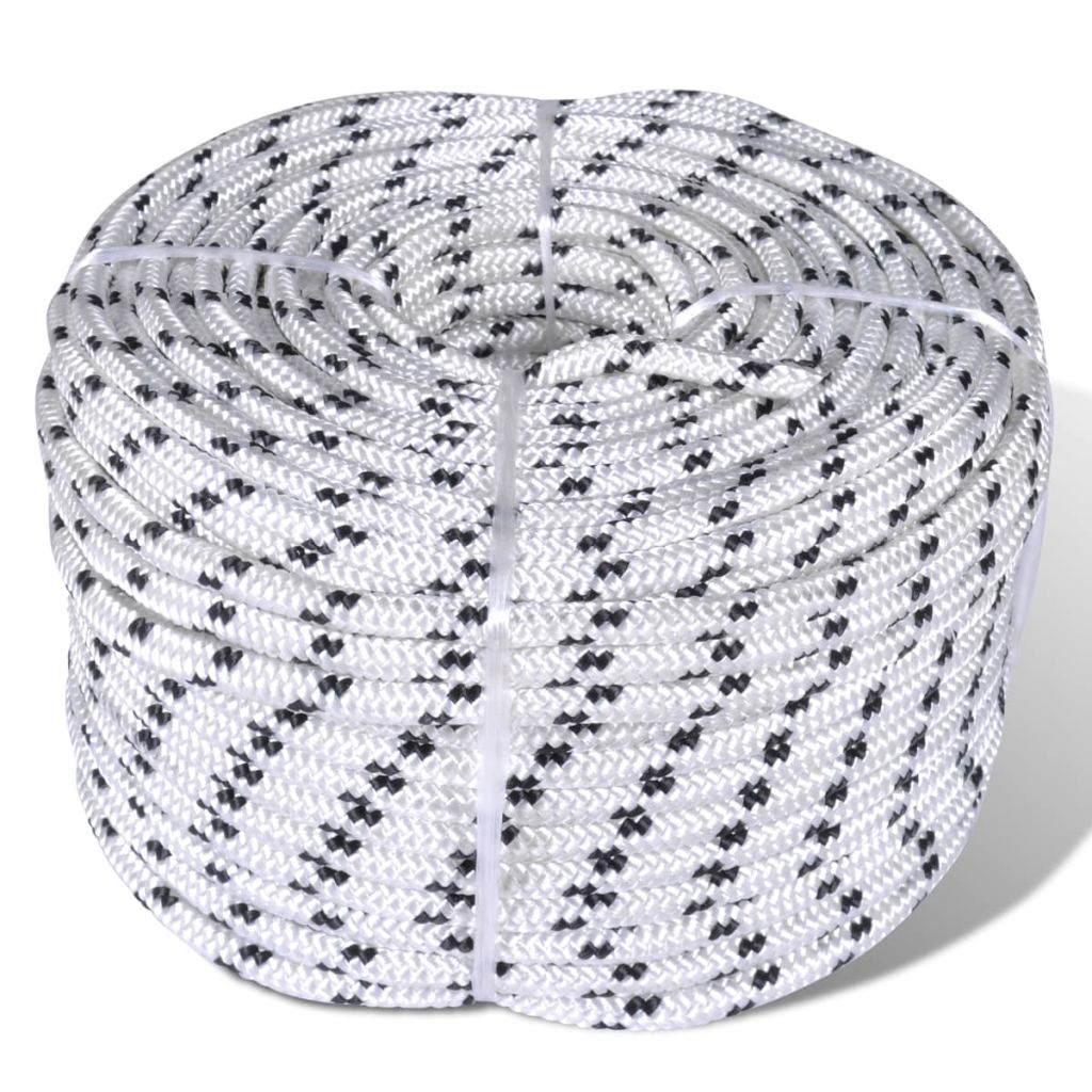 Boottouw polyester gevlochten 8mmx50m