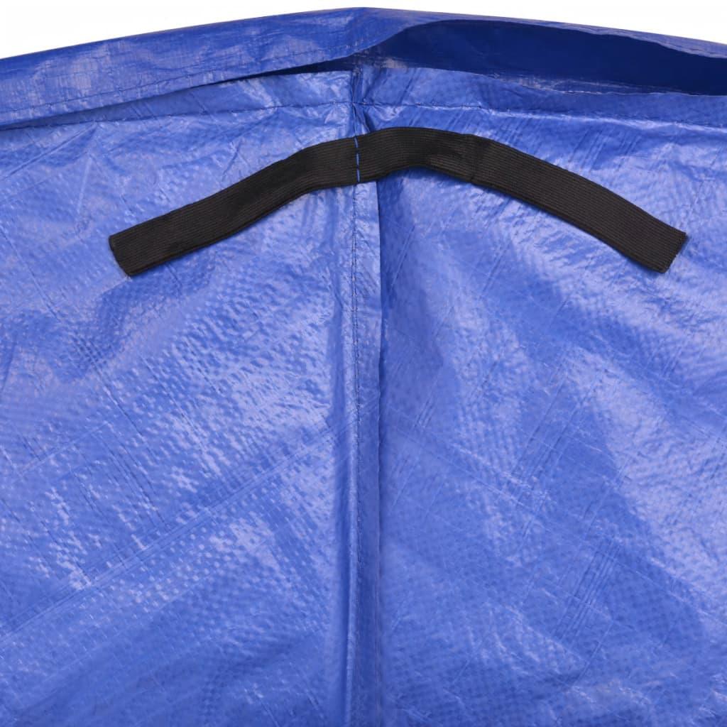 Veiligheidsmat PE blauw voor 15ft/4,57m ronde trampoline