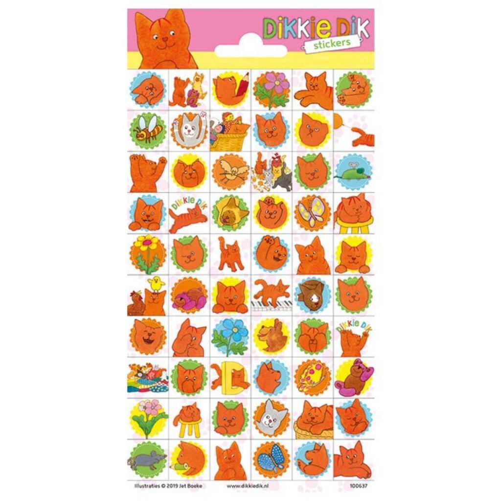 Dikkie Dik Stickers