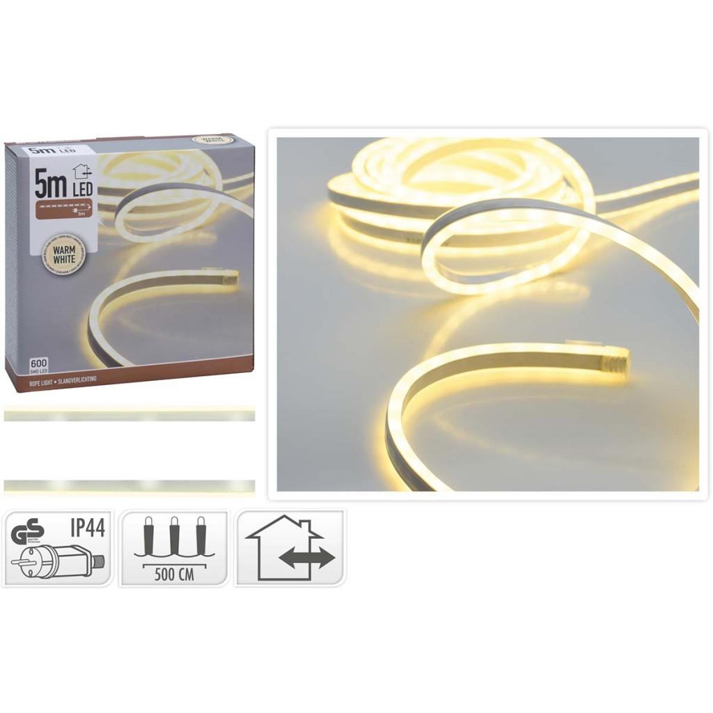 S.I.A. LED Lichtslang 5M 600SMD LEDs Buiten/Binnen IP44