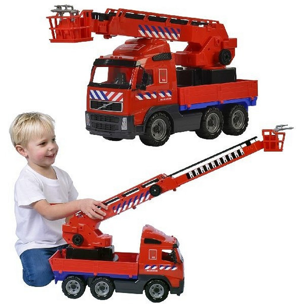 Volvo Brandweerauto met Uitschuifbare Ladder 58.5 cm