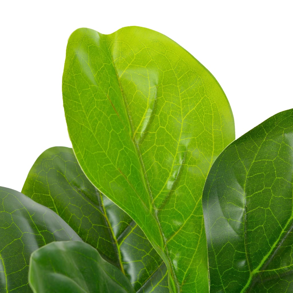 Kunstplant met pot vioolbladplant 90 cm groen