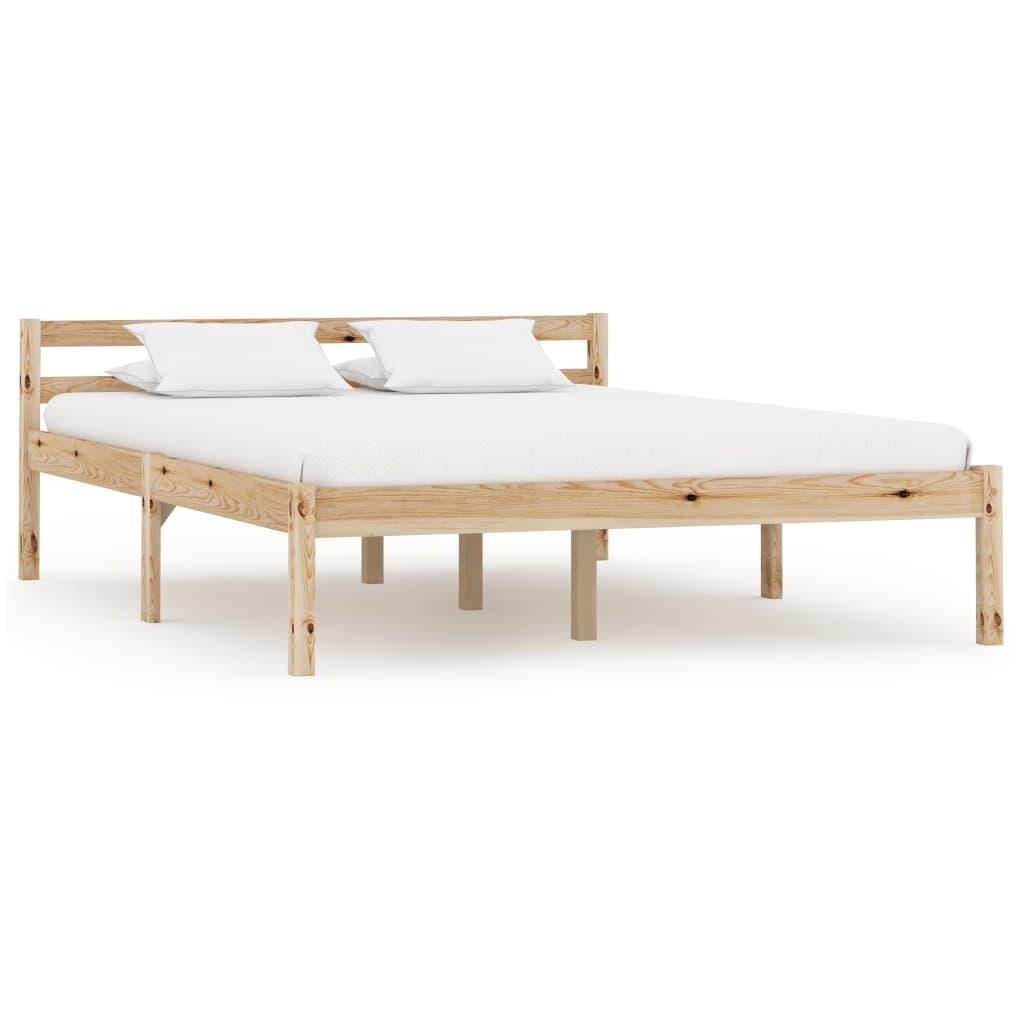 Bedframe massief grenenhout 140x200 cm