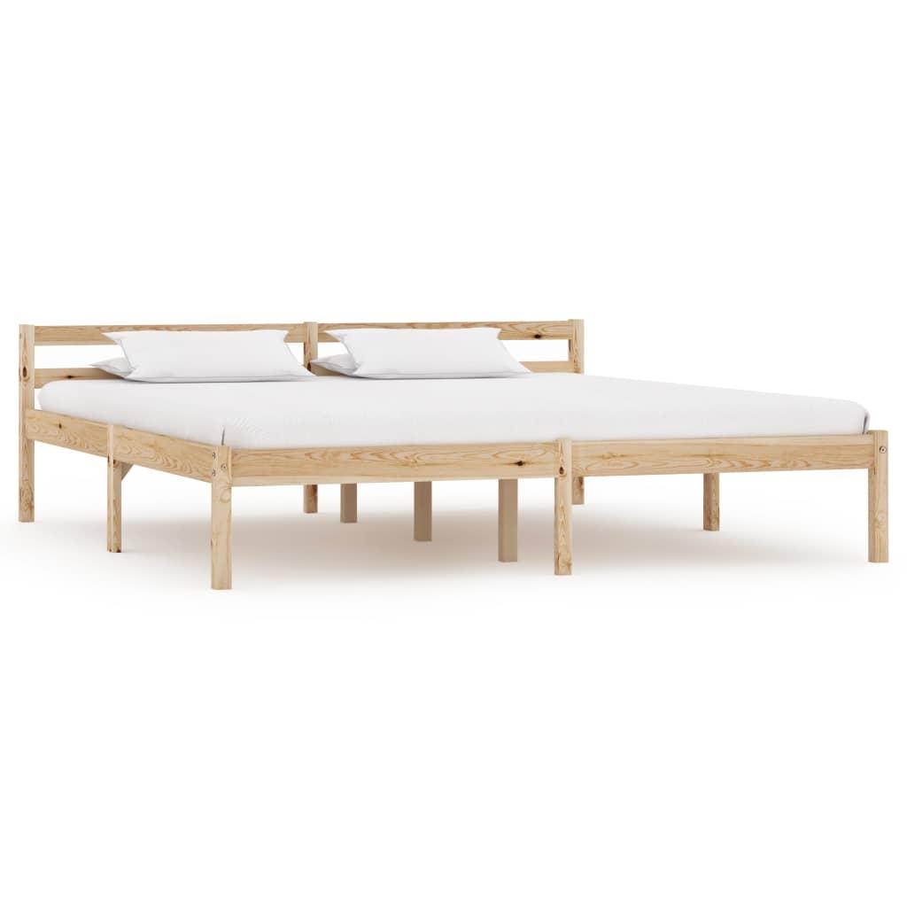 Bedframe massief grenenhout 180x200 cm