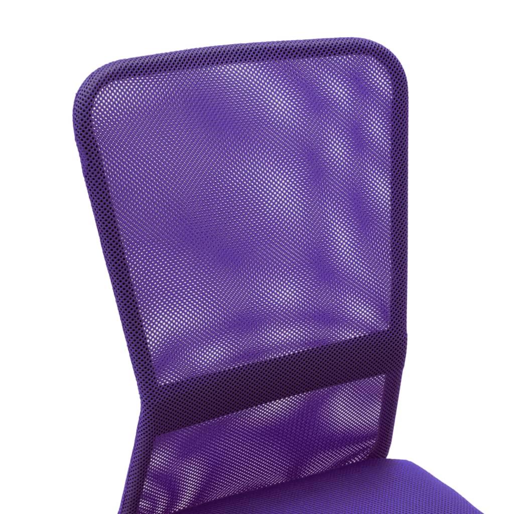 VidaXL Kantoorstoel 44x52x100 cm mesh stof paars