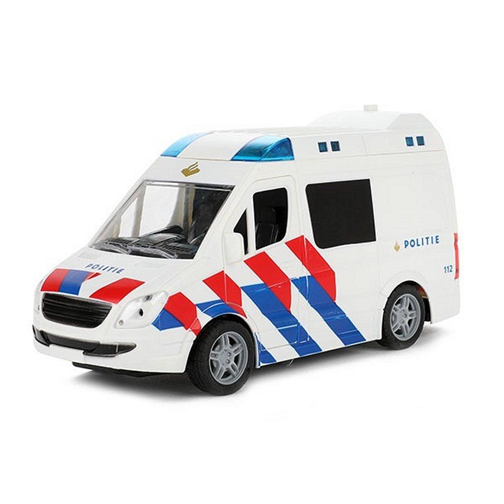 Toi-Toys Cars & Trucks Politiebus + Licht en Geluid