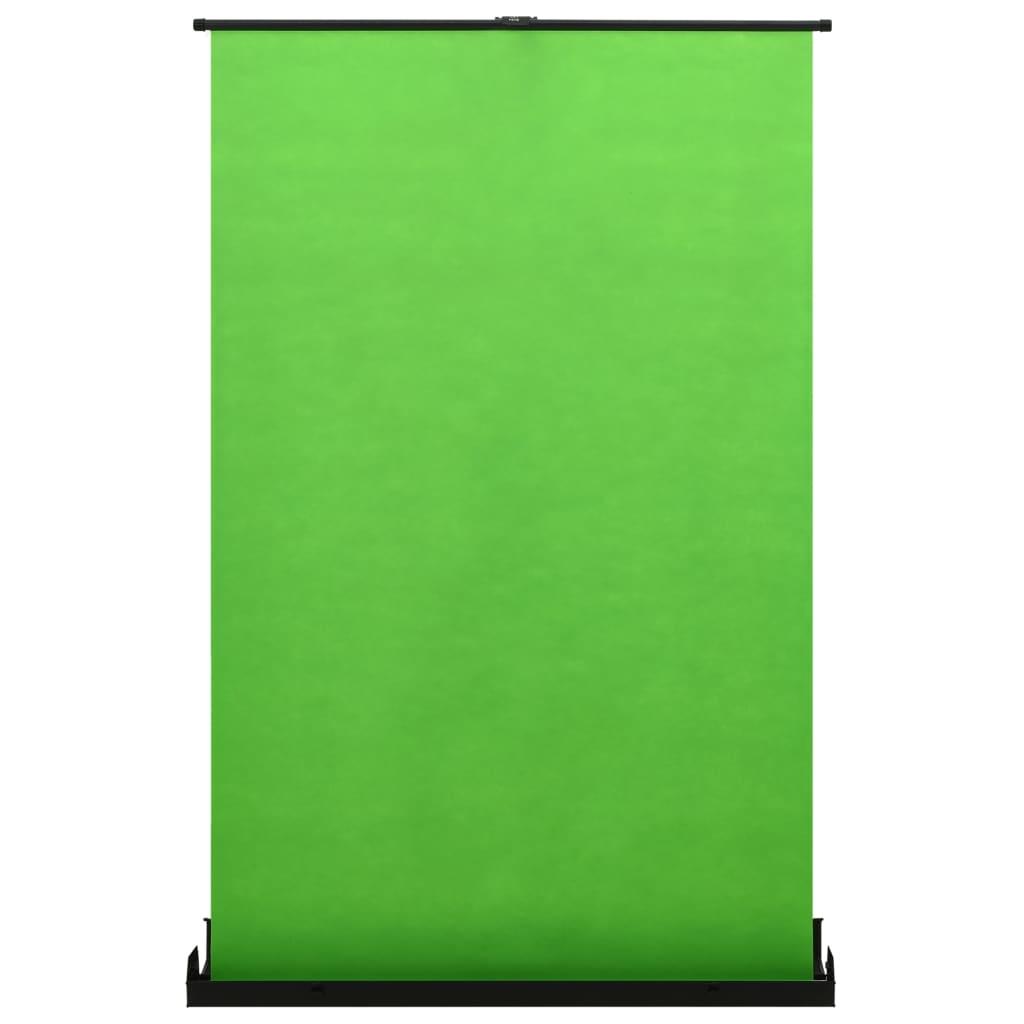 Fotoachtergrond 4:3 97'' groen