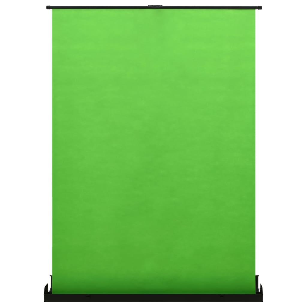 Fotoachtergrond 4:3 102'' groen