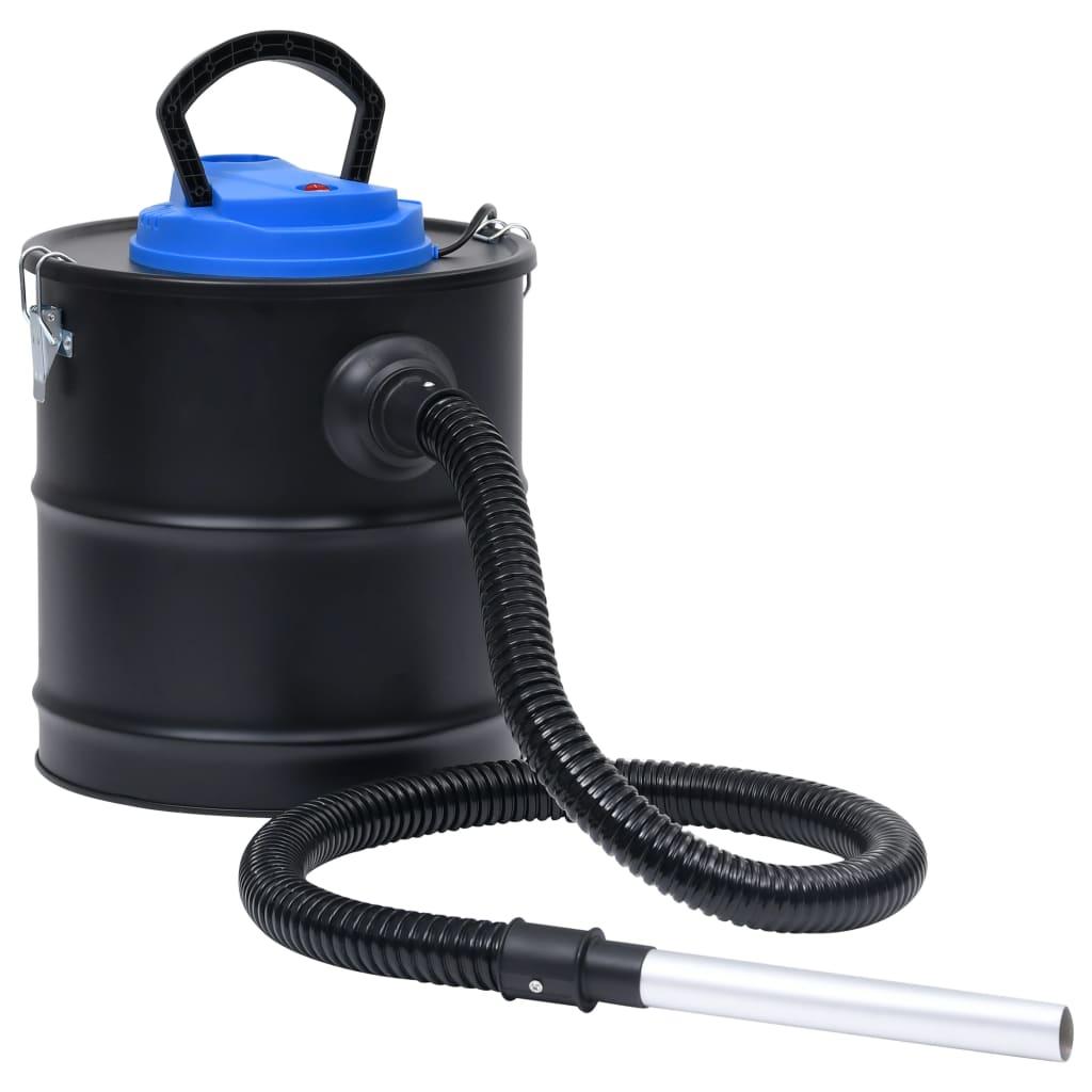 Asstofzuiger met HEPA-filter 1200 W 20 L staal