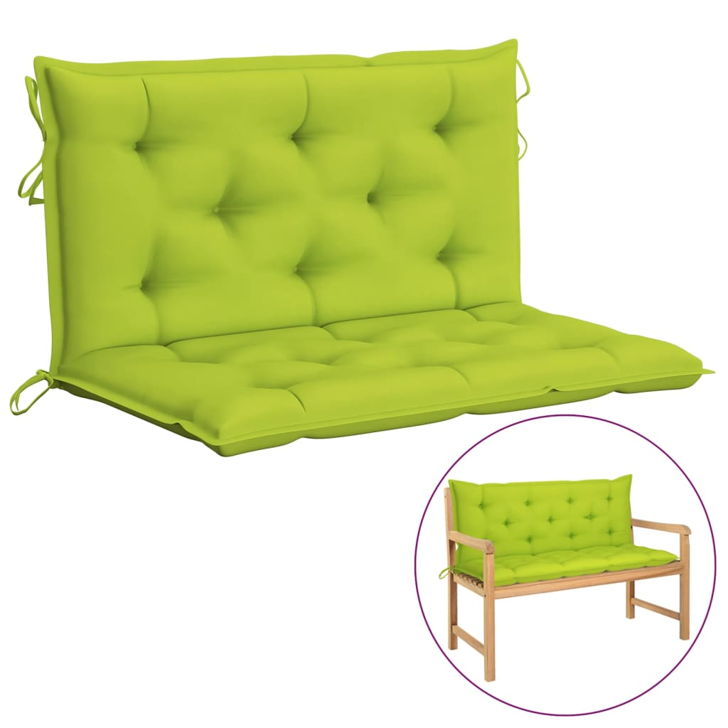 Kussen voor schommelstoel 100 cm stof heldergroen