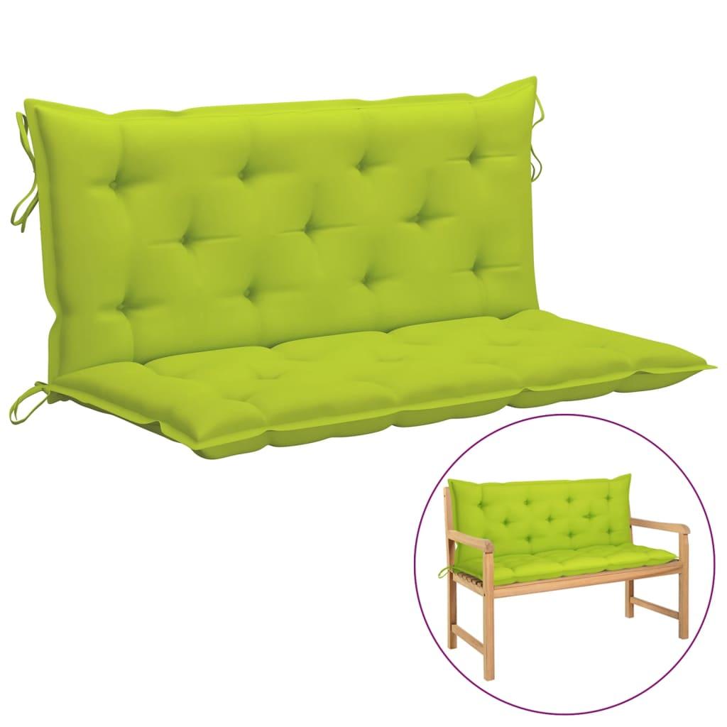 Kussen voor schommelstoel 120 cm stof heldergroen