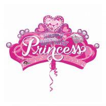 Anagram Folie Ballon Prinsessen Kroon 81x48 cm