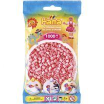 Hama Strijkkralen Hama 1000 Stuks Roze
