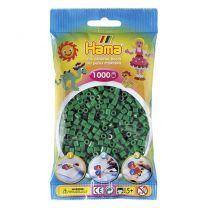 Hama Strijkkralen Groen 1000 Stuks