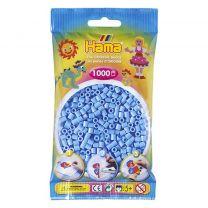 Hama Strijkkralen Lichtblauw 1000 Stuks