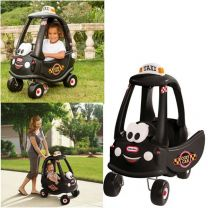 Little Tikes Cozy Coupe Taxi Loopauto Zwart