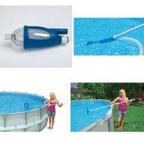 Intex 28003 Luxe Zwembad Onderhoudskit met Steel