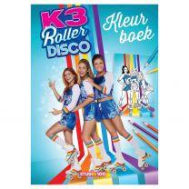 K3 Kleurboek - Roller Disco
