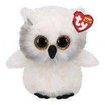 Ty Beanie Buddy Austin Owl, 24cm