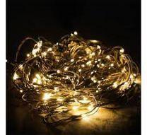 Lichtketting warm wit 160 LED's 200x150cm voor binnen of buiten