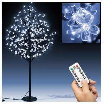 Kerst bloesemboom 180cm met 220 LED's blauwe verlichting voor binnen en buiten