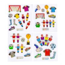 Stickers Voetbal Glinsterend