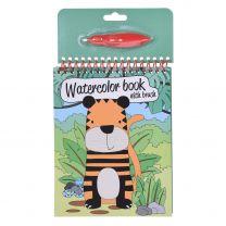 Water Tekenboek met penseel