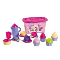 Koffie & Cupcake's Set in Opbergbox