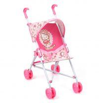 Hello Kitty Poppenbuggy met Zonnescherm
