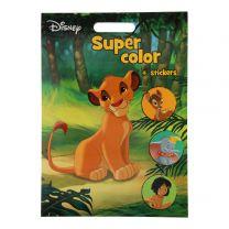 Disney Figuren Super Color Kleurboek XXL met Stickers