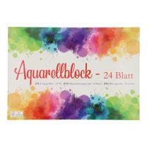 Aquarelblok A4, 24 vellen
