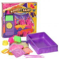 Knutselset Squeezy Speelzand met glitters