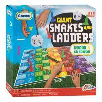 Reuze Snakes & Ladders Spel