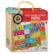 Giant Number Activity Puzzel (88x58.5cm)