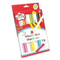 Afwasbare Stiften, 8st.