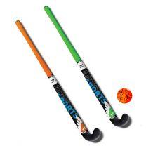Hockeyset Oranje en Groen 30''