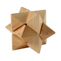 IQ Puzzel Hout Ster
