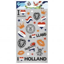 Stickervel Holland