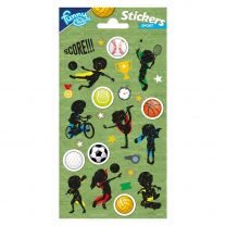 Stickervel Sport