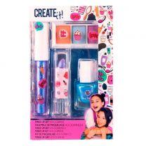 Create It! Make-up Set Holografisch, 4dlg.